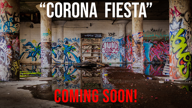 "Exploring Abandoned Buildings in Newark NJ, ""Corona Fiesta"" Part 2/3 Trailer"